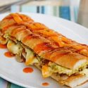 Roti john ayam cheese